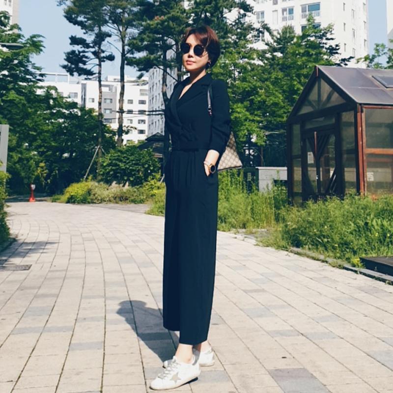 [韓国レビュー]ジャンプスーツはディントが一番きれいだと思います。