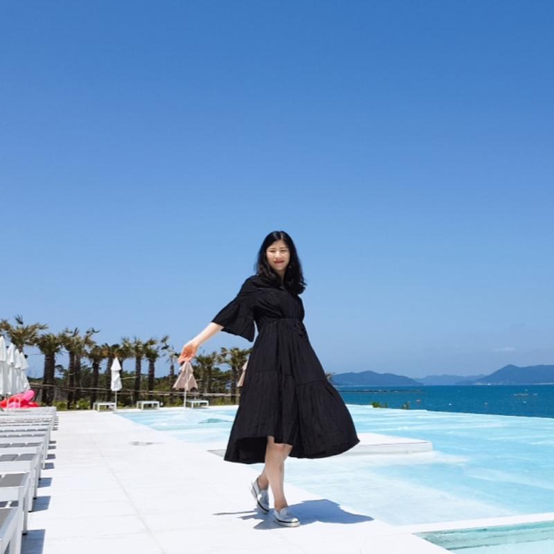 [韓国レビュー]夏もよく着そうです!