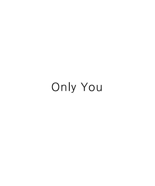 廣谷いおり様 Only You
