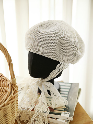 AC-465テルリンロングレースの帽子
