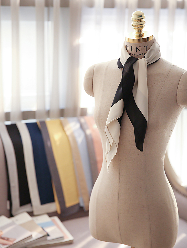 AS-1259クリーミースプリングスカーフ