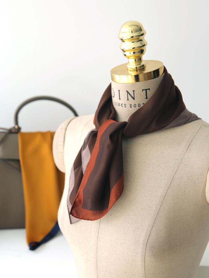AS-1291スニーカー配色スカーフ