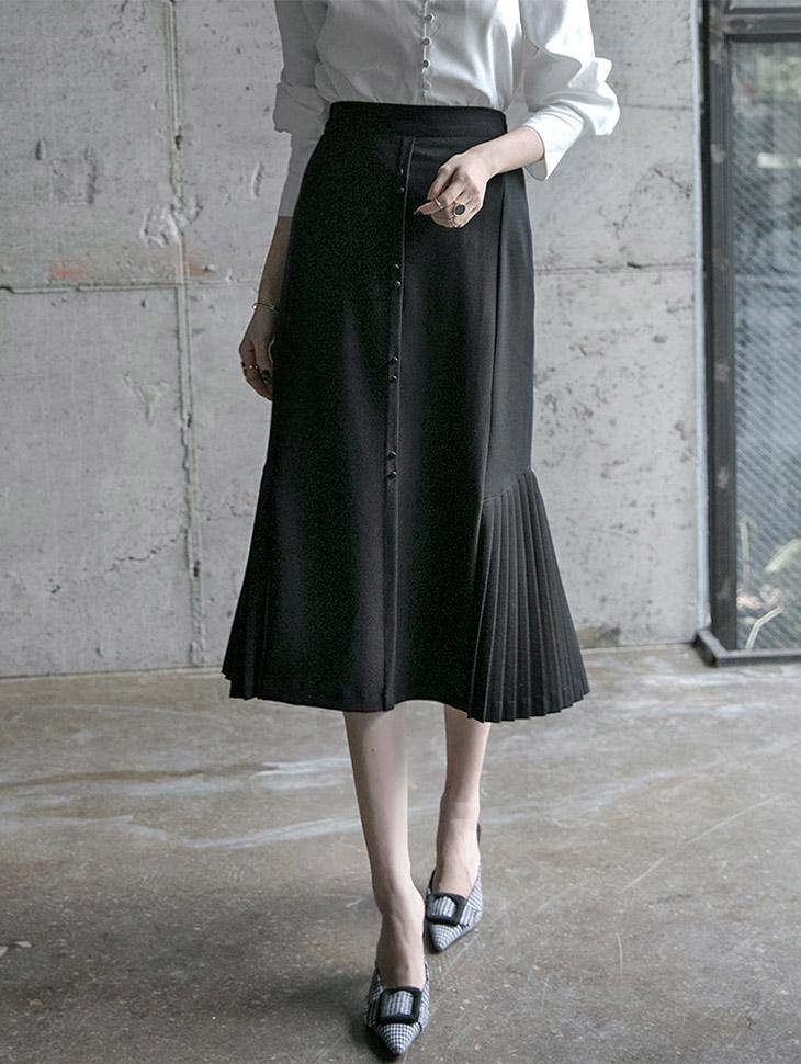 SK1763キャストプリッツラインスカート(15次再入庫)