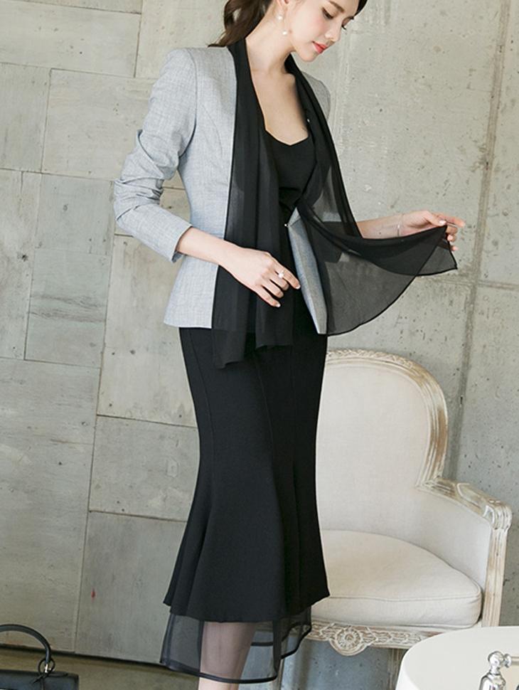 J602 アドバイザースカーフジャケット(スカーフset)*Lサイズ製作* (9th REORDER)