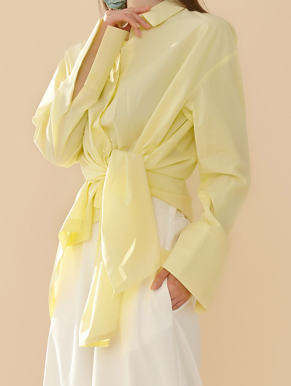 S360 ネイルリースタイリングツーウェイシャツ