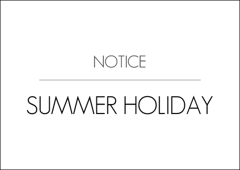AUGUST SUMMER HOLIDAYS