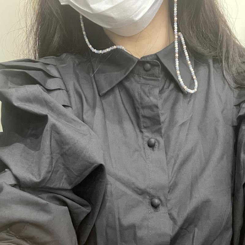 [韓国レビュー]きれいなブラウスでした!