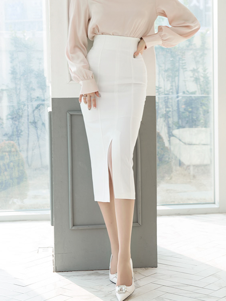 SK1833 テールリーひらきロングスカート *Lサイズ製作* (57th REORDER) 韓国